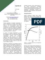 Quantifying Design Properties of Adhesive MATC_B_54