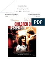 Children of A Lesser God Analysis