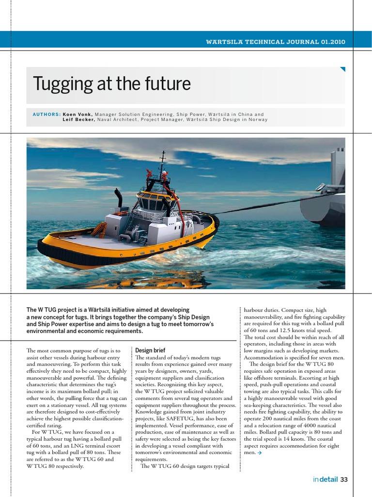 Wartsila Sp A Id Tug Hybrid Vehicle Tugboat Wiring Diagram