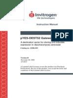 PYES-DeST52 Instruction Manual