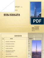 Case Study on Burj Khalifa Dubai