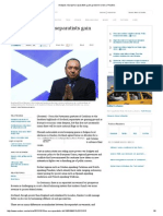 Analysis_ Europe's Separatists Gain Ground in Crisis _ Reuters