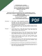 Keputusan Menteri Negara Agraria/Kepala Badan Pertanahan Nasional Nomor 15 Tahun 1997 tentang Perubahan Keputusan Menteri Negara Agraria/Kepala Badan Pertanahan Nasional Nomor 9 Tahun 1997 tentang Pemberian Hak Milik Atas Tanah untuk Rumah Sangat Sederhana (RSS) dan Rumah Sederhana (RS)