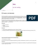 El Huevo y La Ósmosis _ Nuestro Blog de Clase