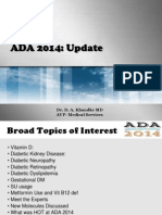 ADA Update 2014
