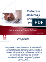 Presentación Redacción Moderna y Ortografía Práctica