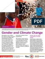 Gender and Climate Change Guidance Note, June 2014
