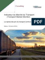 Indicateur Du Marche Du Transport Fevrier 2014 - Capgemini Consulting Et Transporeon
