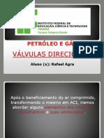 Pneumática - Válvulas Direcionais