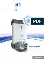 Aquaflo User Manual 2011