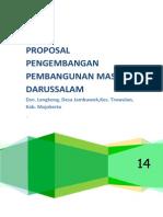 Proposal Pengembangan Masjid Darussalam
