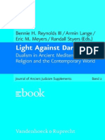 Light Against Darkness Dualism in Ancient Mediterranean Religion and the Contemporary World