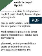 04 Medicamentele in Timpul Sarcinii Si Alaptarii c