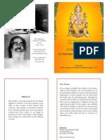 Ganesh Pooja Book-English
