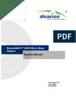 BreezeMAX 3000 MBST Ver_2_5 FDD System Manual_060625