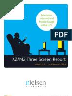 Nielsen 'Three Screen Report'