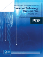 CDC IT Strategic Plan 2012 2016