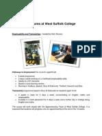 WSC 'Futures' Course Info