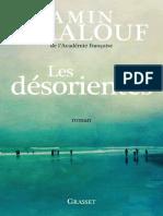 Les Desorientes Maalouf Amin