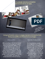 Using Multimedia tools to engage learners in Disaster Risk Reduction (DRR)