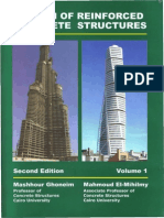 Design of Reinforced Concrete Structure - Volume 1 - DR Mashhour a Ghoneim