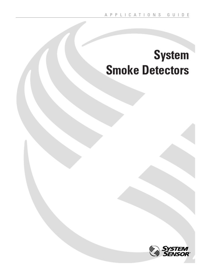 System Smoke Detectors Applications Guide A05 1003 Electrical Signaling Line Circuit Wiring Manual Firelite Alarms Building Engineering