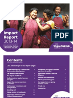 Womankind Impact Report 2013-14