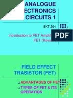 Chptr 2 - Intro to FET