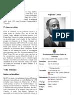 Cipriano Castro - Biografia