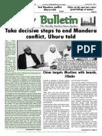Friday Bulletin 591...