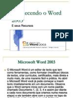 Conhece n Doo Word 2003