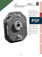DODGE Torque-Arm Speed Reducer Feature Benefit