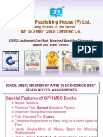 Ignou MEC Help Books, Assignments, projects.
