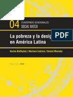 Pobreza en America Latina