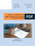 Statica Constructiilor-Structuri Static Determinate-Indrumator Pentru Lucrari