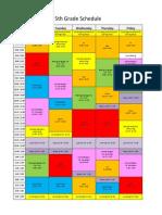 honza schedule 2014-15