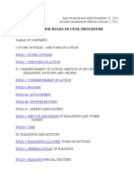 State of Maine Rules of Civil Procedure for 2012