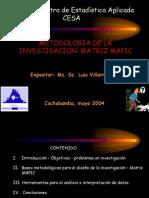 Metodologia de La Investigacion - Matriz Mapic