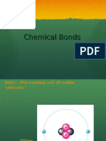 Kinds of Chemical Bonds