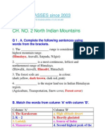 Ch. No. 2. North Indian Mountains
