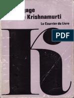 Yvon Achard - Le Langage de Krishnamurti