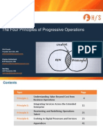 Corp 140529 HfS the Four Principles of Progressive Operations