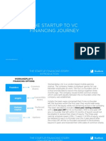 The Startup to Venture Capital Financing Story