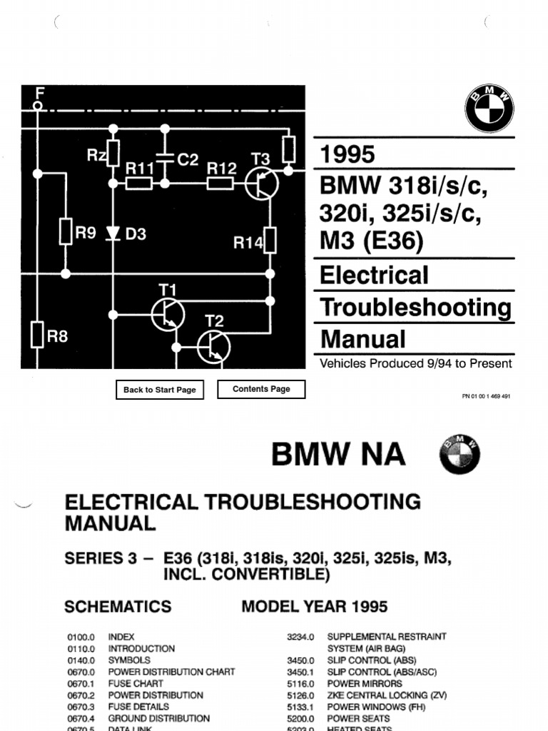 Inspiring BMW E36 Ignition Wiring Diagram Pictures - Best Image Wire ...