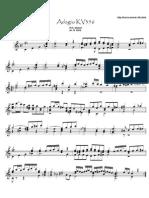 Mozart Kv356 (Guitar)