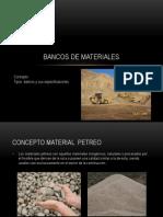 Bancos de Materiales 2