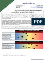Asia Flow Report 2009-12-07