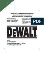 Cortadora de Disco DEWALT D29700
