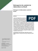 Hijjar - 2007 - Retrospecto Do Controle Da Tuberculose No Brasil