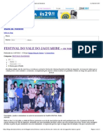 Festival Do Vale Do Jaguaribe – Os Vencedores - Diário Do Nordeste